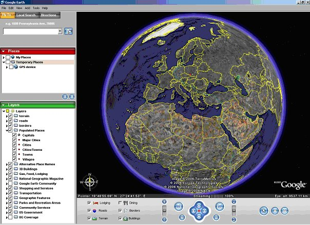 Google Earth or how to find a map of your place on line – Earth Map Online